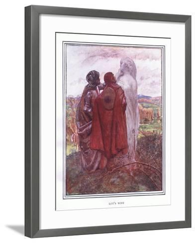 Lot's Wife-John Byam Liston Shaw-Framed Art Print