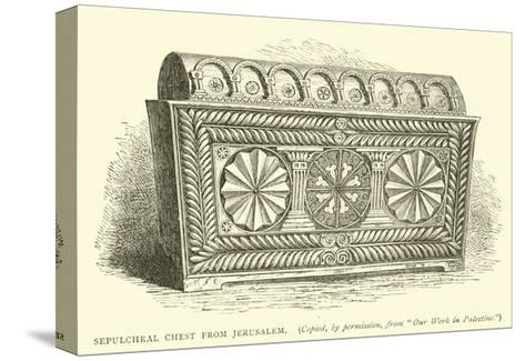 Sepulchral Chest from Jerusalem--Stretched Canvas Print