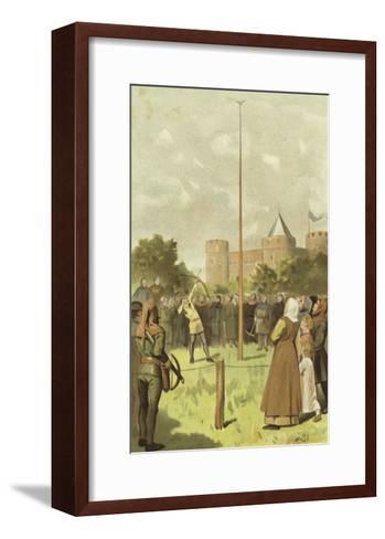 Bird Shooting, Netherlands, 14th Century-Willem II Steelink-Framed Art Print