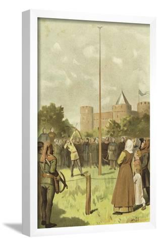 Bird Shooting, Netherlands, 14th Century-Willem II Steelink-Framed Art Print