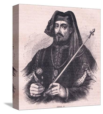 Henry IV--Stretched Canvas Print