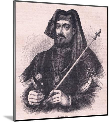 Henry IV--Mounted Giclee Print