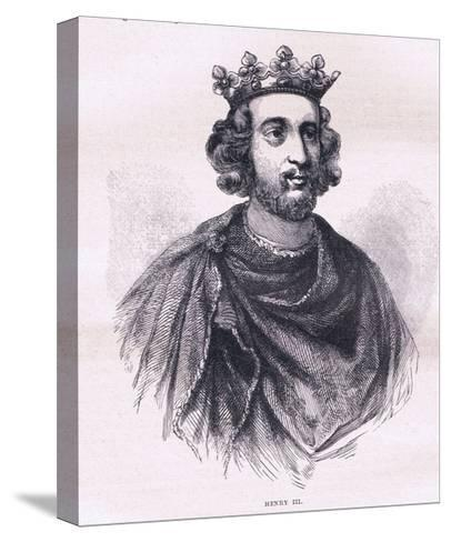 Henry III--Stretched Canvas Print