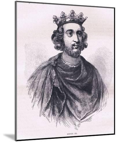 Henry III--Mounted Giclee Print