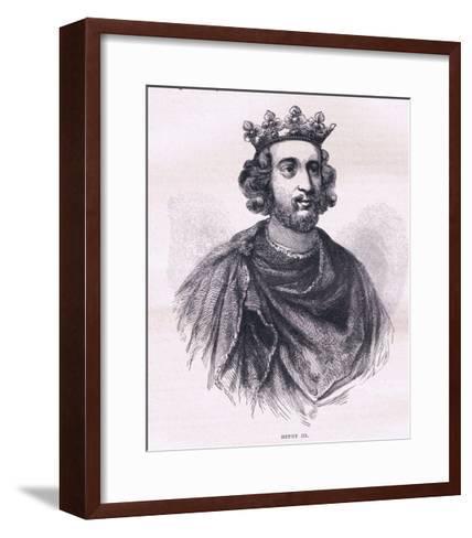 Henry III--Framed Art Print