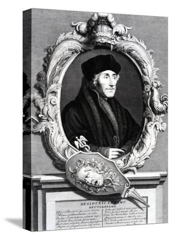 Desiderius Erasmus of Rotterdam--Stretched Canvas Print