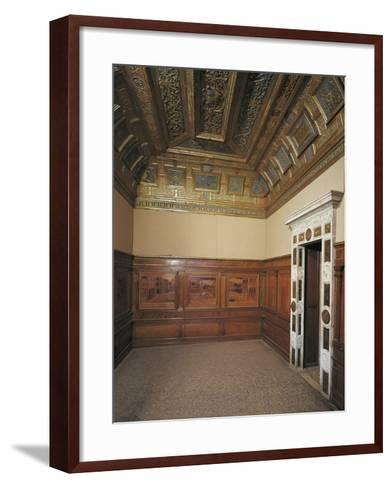 16th Century Studiolo--Framed Art Print