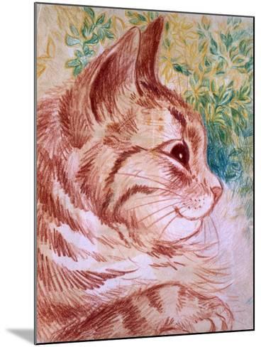 Kaleidoscope Cats I-Louis Wain-Mounted Giclee Print
