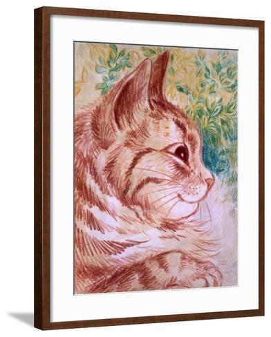 Kaleidoscope Cats I-Louis Wain-Framed Art Print