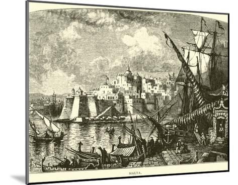 Malta--Mounted Giclee Print