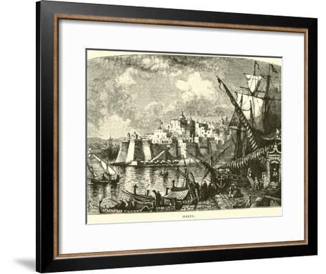 Malta--Framed Art Print