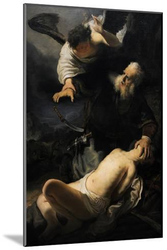 Rembrandt--Mounted Giclee Print