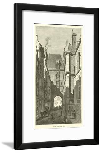 Arcade Saint-Jean, 1830--Framed Art Print