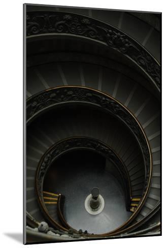 Spiral Stairs-Giuseppe Momo-Mounted Giclee Print