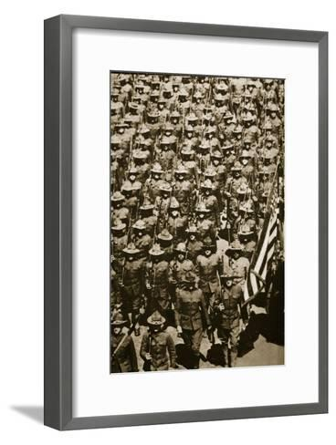 The Yanks are Coming'--Framed Art Print