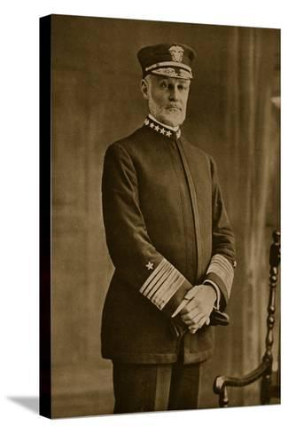 Admiral William Sowden Sims, 1914-19--Stretched Canvas Print