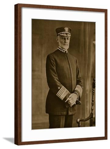 Admiral William Sowden Sims, 1914-19--Framed Art Print