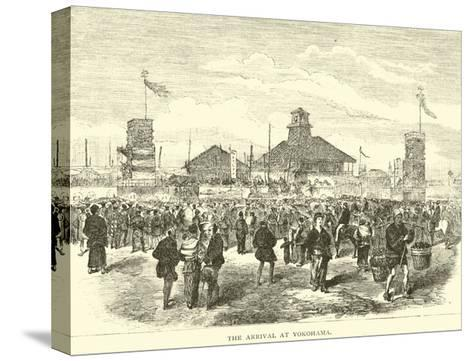 The Arrival at Yokohama--Stretched Canvas Print