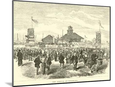The Arrival at Yokohama--Mounted Giclee Print