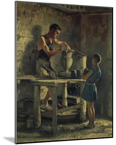 The Potters, 1873-Filippo Palizzi-Mounted Giclee Print
