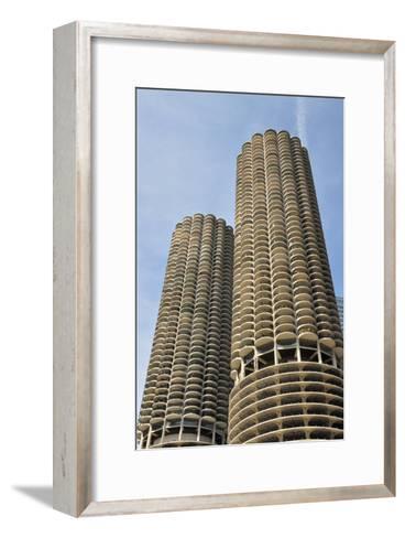 Marina City--Framed Art Print
