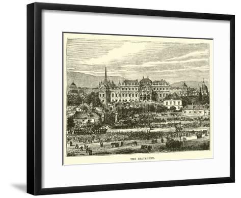 The Belvedere--Framed Art Print
