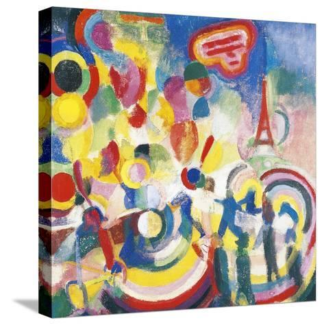 Homage to Bleriot, 1914-Robert Delaunay-Stretched Canvas Print