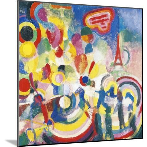 Homage to Bleriot, 1914-Robert Delaunay-Mounted Giclee Print