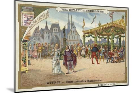 Scene from Faust, an Opera by Charles Gounod--Mounted Giclee Print