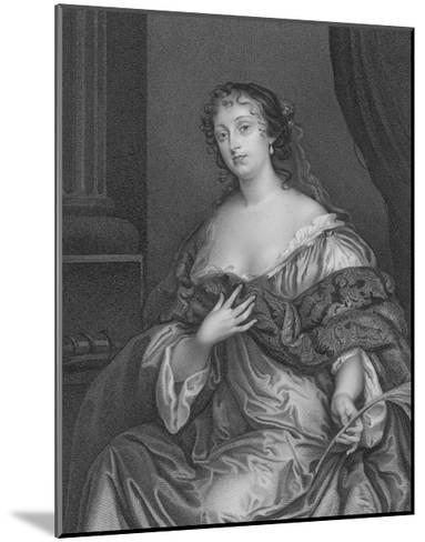 La Belle Hamilton-Sir Peter Lely-Mounted Giclee Print