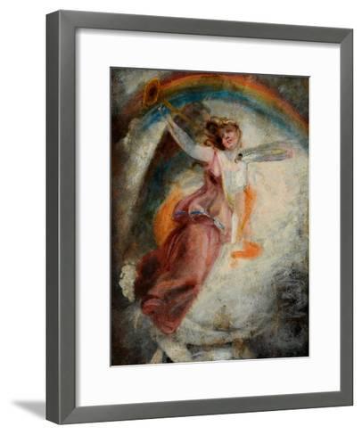 A Herald Angel-John Constable-Framed Art Print