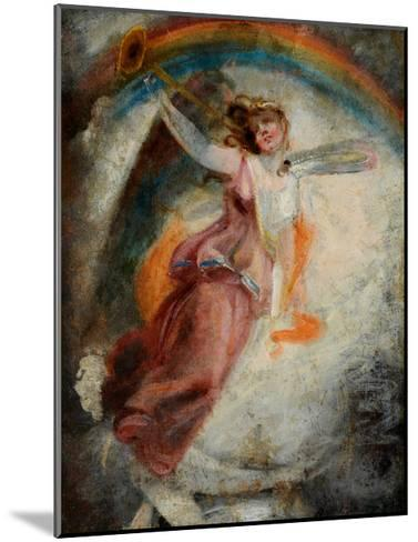 A Herald Angel-John Constable-Mounted Giclee Print