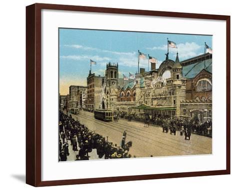 Coliseum--Framed Art Print