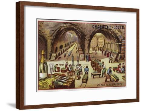 Winemaking--Framed Art Print