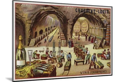 Winemaking--Mounted Giclee Print