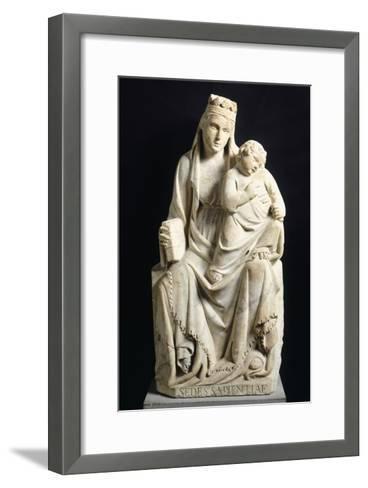 Madonna and Child, 1332-Tino di Camaino-Framed Art Print