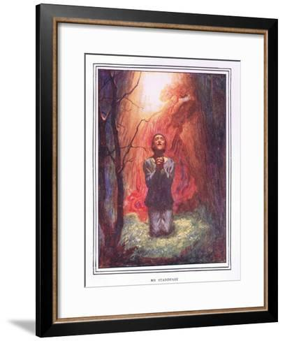 Mr Stand Fast-John Byam Liston Shaw-Framed Art Print