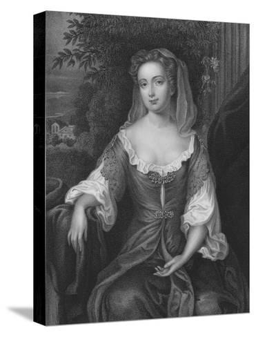 Mrs Lawson-Willem Wissing-Stretched Canvas Print
