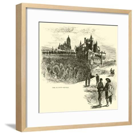 The Alcazar, Seville--Framed Art Print