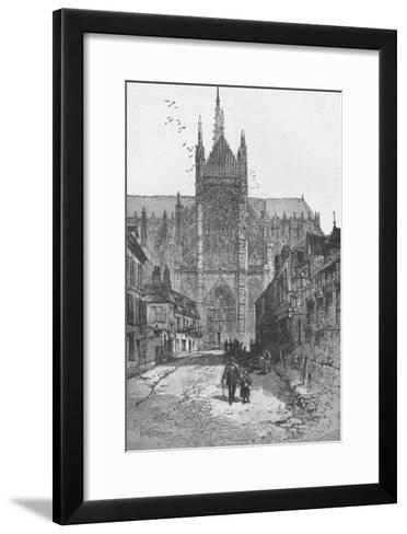 Porch of the Golden Virgin: Amiens Cathedral--Framed Art Print