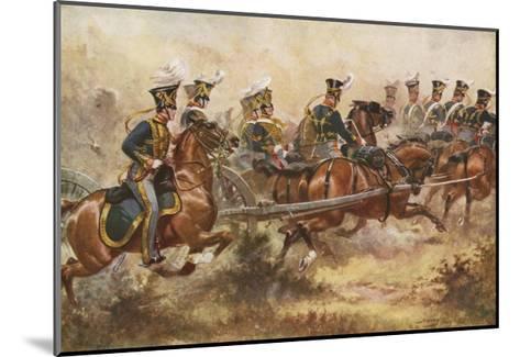 Royal Horse Artillery, C1832-Henry Payne-Mounted Giclee Print