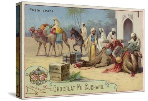 Arab Postal Service--Stretched Canvas Print