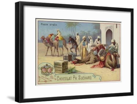 Arab Postal Service--Framed Art Print
