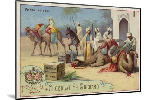 Arab Postal Service--Mounted Giclee Print