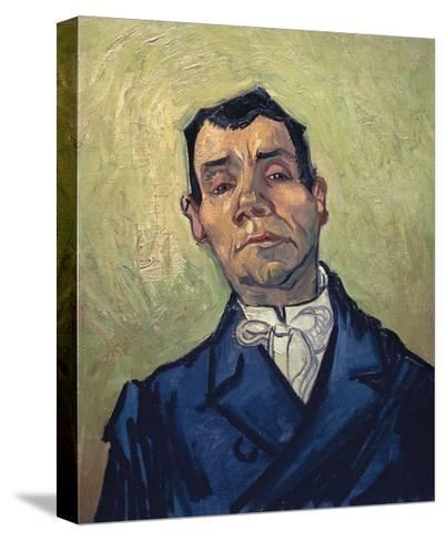 Portrait of Man-Vincent van Gogh-Stretched Canvas Print