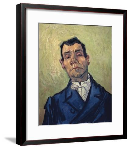 Portrait of Man-Vincent van Gogh-Framed Art Print