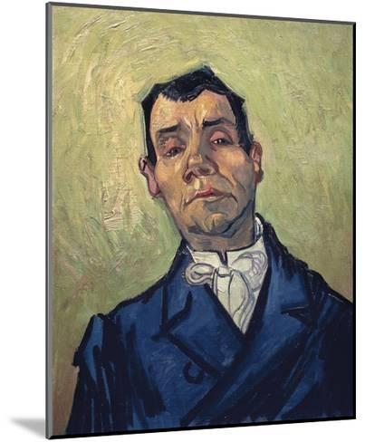 Portrait of Man-Vincent van Gogh-Mounted Giclee Print