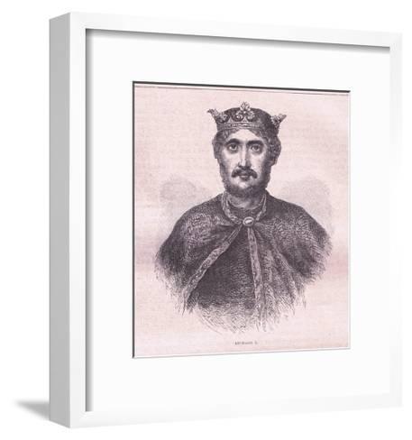 Richard I--Framed Art Print