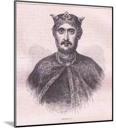 Richard I--Mounted Giclee Print