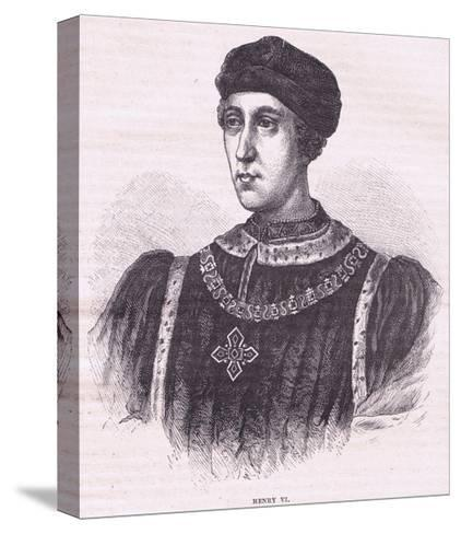 Henry VI--Stretched Canvas Print